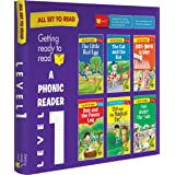 All set to Read-A Phonic Reader-Level 1- PHONICS READERS- 6 books in a Box: Box set