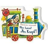 Fridolin 58356 Spieluhr Jim Knopf blau Mini Drehorgel Lummerlandlied