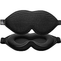 onaEz 3D Schlafmaske für Männer und Frauen, Augenmaske aus Mesh&Seide, atmungsaktiv und hautfreundlich, 3D…