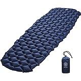 Bahidora Isomatte Camping Ultraleicht. Schlafmatte kleines Packmaß. Aufblasbare Luftmatratze. Isomatte Outdoor - ideal für Camping, Trekking und Backpacking