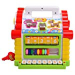 Smartcraft Colorful and Attractive Funny Cottage Educational Toy, Learning House - Baby Birthday Gift for 2 3 Year Old...