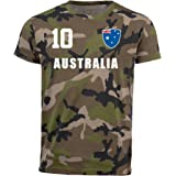 Aprom Australia Camouflage T-Shirt All-10 Jersey Army Look World Cup Australia