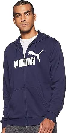 PUMA Ess FZ Hoody TR Big Logo Felpa Uomo
