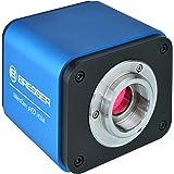 Bresser High End Mikroskopkamera MikroCam Pro HDMI (HDMI, SD, Full HD) mit integriertem Betriebssystem und hochempfindlichen Sony IMX236 Sensor und umfangreicher professioneller Software