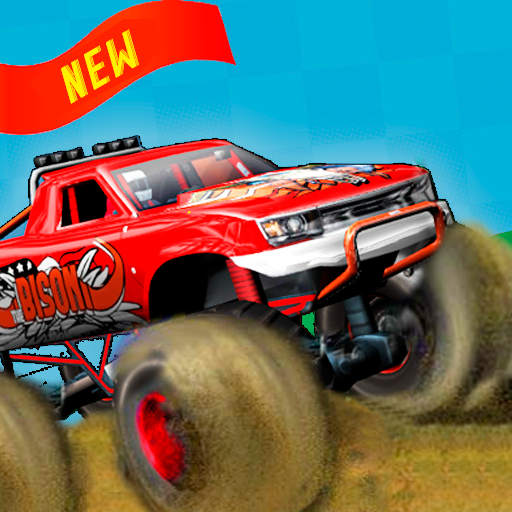 Monster Truck - Sky Wheels - Spiele Jam Monster