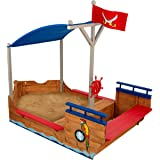 Bac à sable Boot Krabbe XXL en bois – Bateau