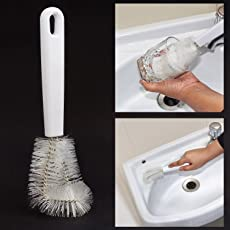HOKIPO® Multiutility Kitchen Cup Cleaning Brush (Pack of 1)