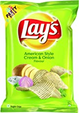 Lay's Potato Chips - American Style Cream & Onion Flavour (Party Pack)-177g
