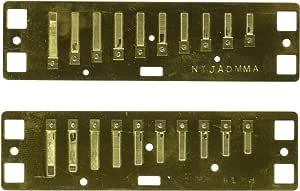 """Lee Oskar 797120 Plaque d'accordeur de rechange Melody Maker La majeur"""