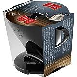 Melitta, Soporte para filtros de café, Para filtros de tamaño 1x4, Compatible con 1 jarra o 2 tazas, Plástico, Pour Over, Neg