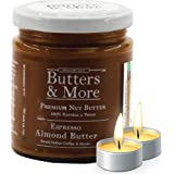 Butters & More Keto Espresso Almond Butter with South Indian Coffee & Natural Stevia Extract (200G) with a Surprise…
