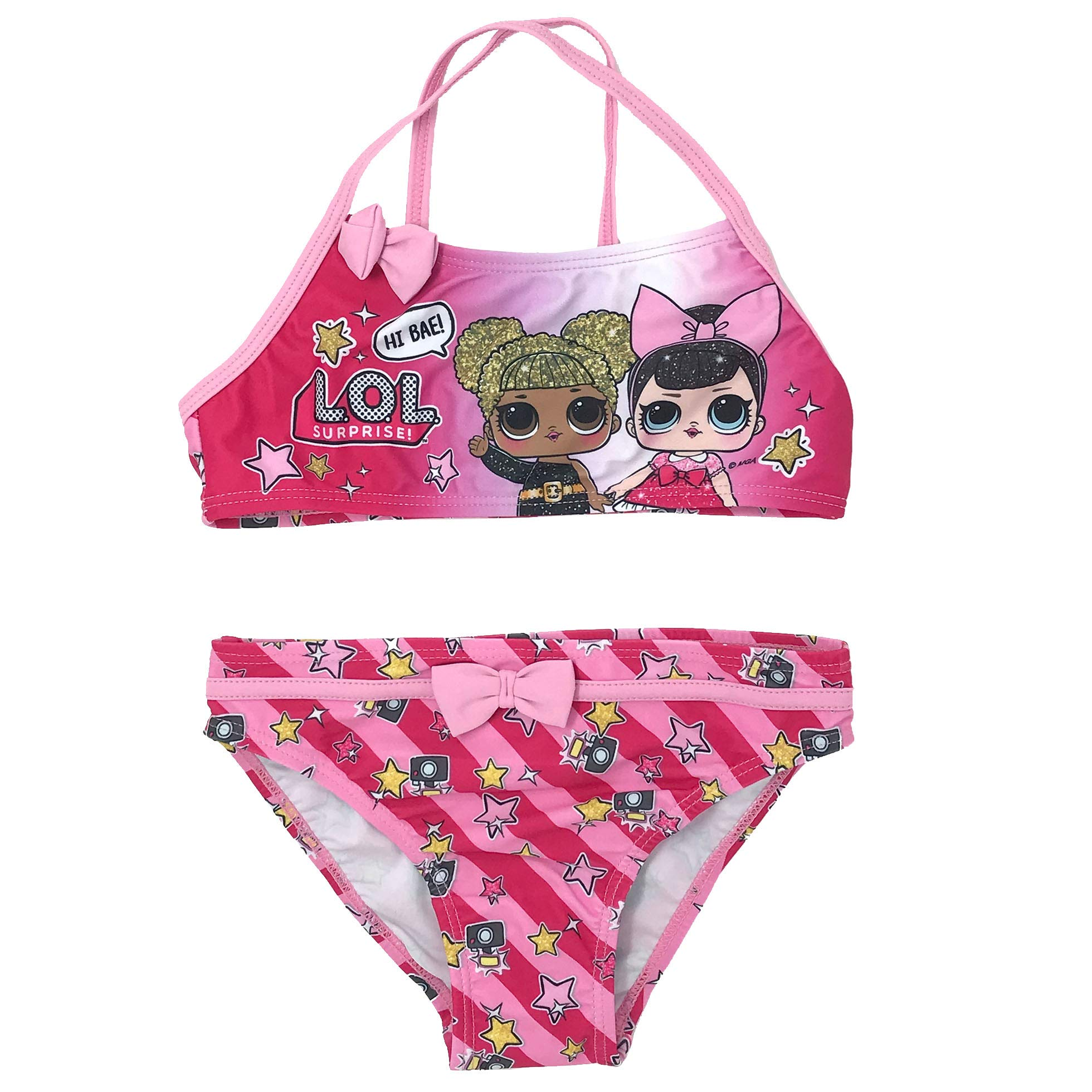 Poliestere Bikini Bambina Entertainment LOL Surprise ET1813 Costume Due Pezzi