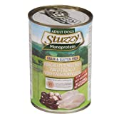 Stuzzy Comida Húmeda Natural para Perro Sabor Pavo - Paquete de 6 x 400 gr - Total: 2400 gr