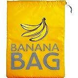 38 x 28 cm Kitchen Craft Stay Fresh bolsa de poliéster Banana, amarillo