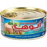 لحم تونا خفيف بالزيت من الوها، 100 غرام، قطعة واحدة V1900