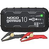 NOCO GENIUS10EU, Chargeur Intelligent Automatique de 10A, Chargeur de Batterie 6V et 12V, Mainteneur de Batterie, Chargeur de