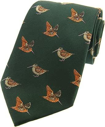 Green woodcock tie