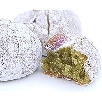 Paste di mandorla siciliane al pistacchio di Sicilia (box kg.1). RAREZZE: cannoli e cassate da antica pasticceria…