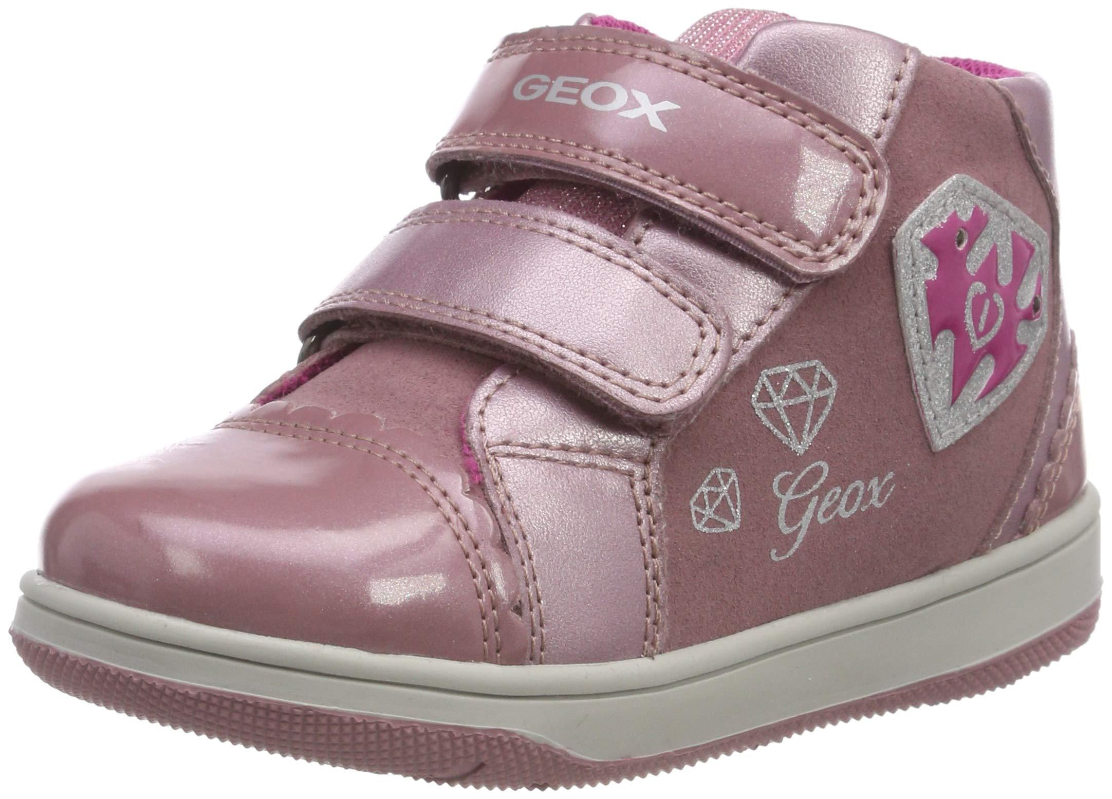 Geox B New Flick Girl C, Zapatillas para Bebés