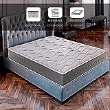 ROYAL SLEEP Colchón viscoelástico Carbono 150x200 firmeza Alta, Gama Alta, Efecto regenerador, Altura 25cm - Colchones Cerami