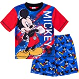 Mickey Mouse Boys Short Pyjamas Pjs Ages 12 Months to 6 Years, Official Disney Merchandise