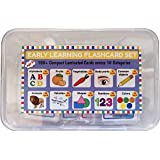 SOFTIES 180+ Laminated Conceptual Early Learning Educational Activity Flashcard Set | Early Development of English…