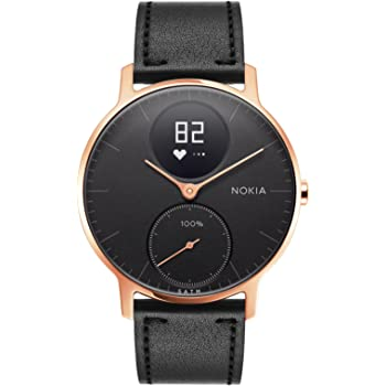 Nokia Steel HR Rose Gold Hybrid Smartwatch – Activity, Fitness and Heart Rate tracker