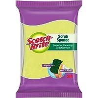 Scotch-Brite Scrub Sponge Ideal for dishwash liquid | Small ( 8cm X 5cm)
