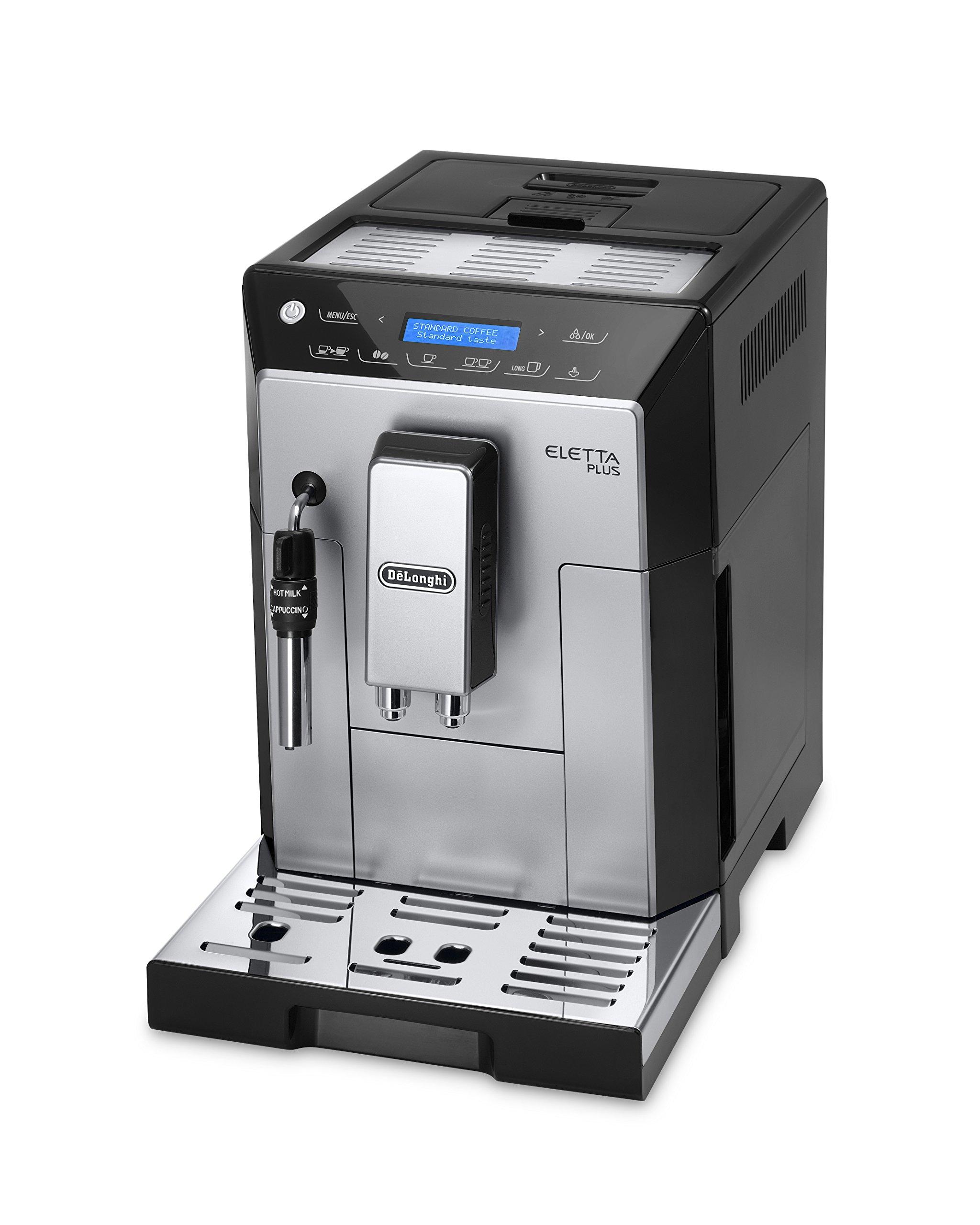 DeLonghi-ECAM-44620S-Kaffeevollautomant-Edelstahl-2-liters-Schwarz-Silber