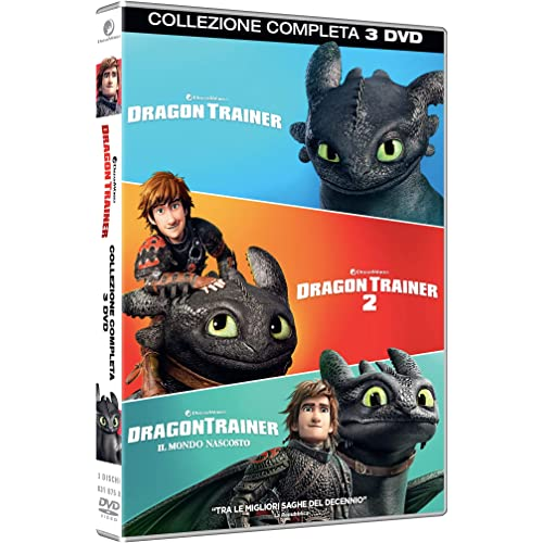 Dragon Trainer Collection 1-3 (Box 3 Dv)