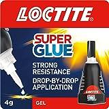 Loctite Super Glue Power Flex Control, Flexible Super Glue Gel, Superglue with Non-Drip Formula for Vertical Applications, Cl