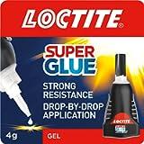 Loctite Super Glue Power Gel, Flexible Super Glue Gel, Superglue with Non-Drip Formula for Vertical Applications, Clear…