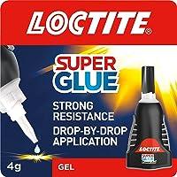 Loctite Super Glue Power Flex Control, Flexible Super Glue Gel, Superglue with Non-Drip Formula for Vertical…