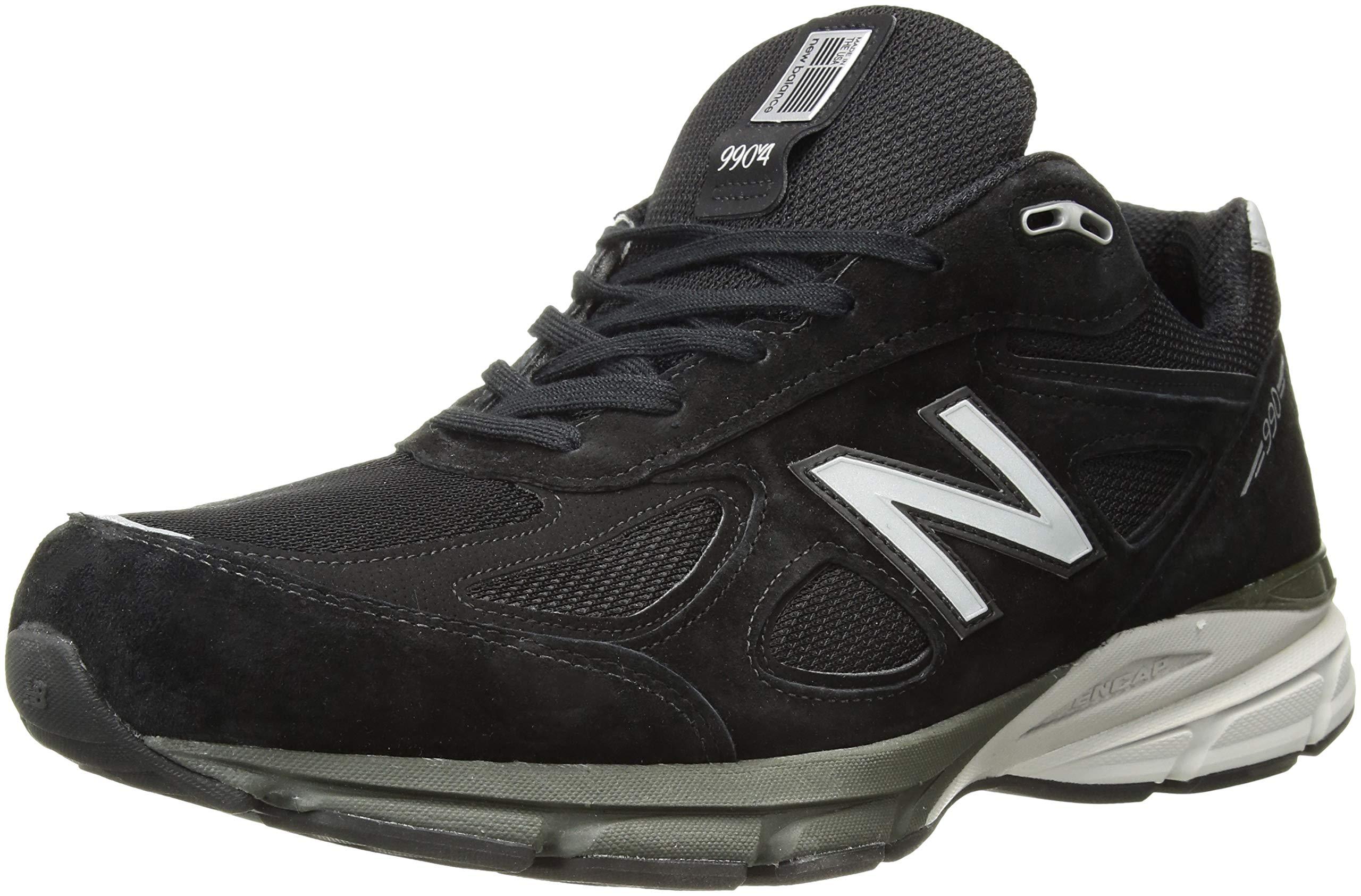81x1HzXadlL - New Balance Mens M990 990v4 Black Size: 7.5 Wide