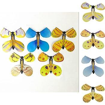 MALS - Papillons magiques pour anniversaire, anniversaire de mariage ou carte de mariageOuvrez