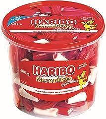 Haribo Maxibox Red & White Golosina, 600g