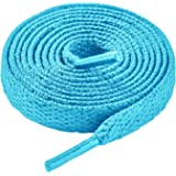 LARGERED Flat Shoelaces Sneakers Laces,Sports Shoe Laces,Durable Shoe Laces for Trainers Walking Boots Hiking Shoes,Replaceme