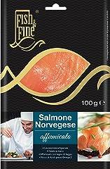 Fish & Fine Salmone norvegese affumicato - 100 g