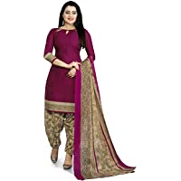 Rajnandini Women's Cotton Unstitched Salwar Suit (JOPL4005J_Purple_Free Size)