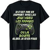Si C'est Pas Du Manga Jeux Video Cadeau Ado Geek Console T-Shirt