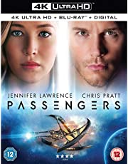 Passengers (4K UHD + Blu-ray + Digital Download + UV) (2-Disc Set) (Region Free + Fully Packaged Import)