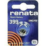 399 (SR927SW) Batteria Pulsante / Ossido di Argento 1.55V / per Orologi, Torce, Chiavi della Macchina, Calcolatrici, Macchine