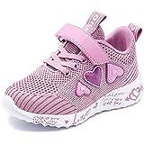 Ragazze Rosa Scarpe Sportive Ttraspirante Stradali Running Shoes Leggero Sneakers Bambina Scarpe Casual
