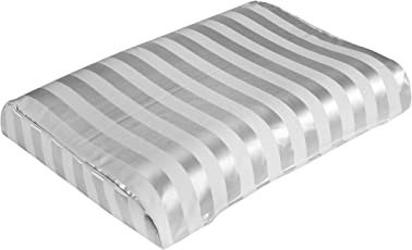 "The White Willow Standard Contour Cool Air Visco Ventilated Memory Foam Pillow - 23"" L x 12"" W x 4"" H"