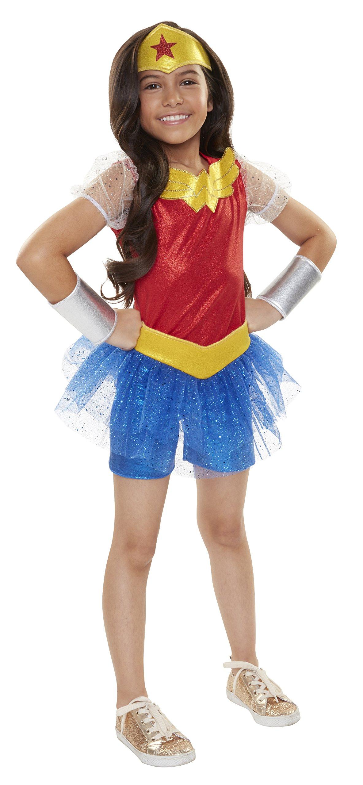 eadf8acf4c1 DC Comics Superhero Niñas Everyday Disfraces Disfraz de Wonder Woman (un  tamaño)