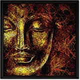 ArtX Paper Lord Shiva Wall Art, Multicolor, Traditional, 13X13 in, Set of 1
