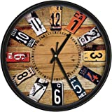 SK multi store world Analog 25 cm X 25 cm Wall Clock Design Best for Home Decor Office Bedroom Kitchen Gifts