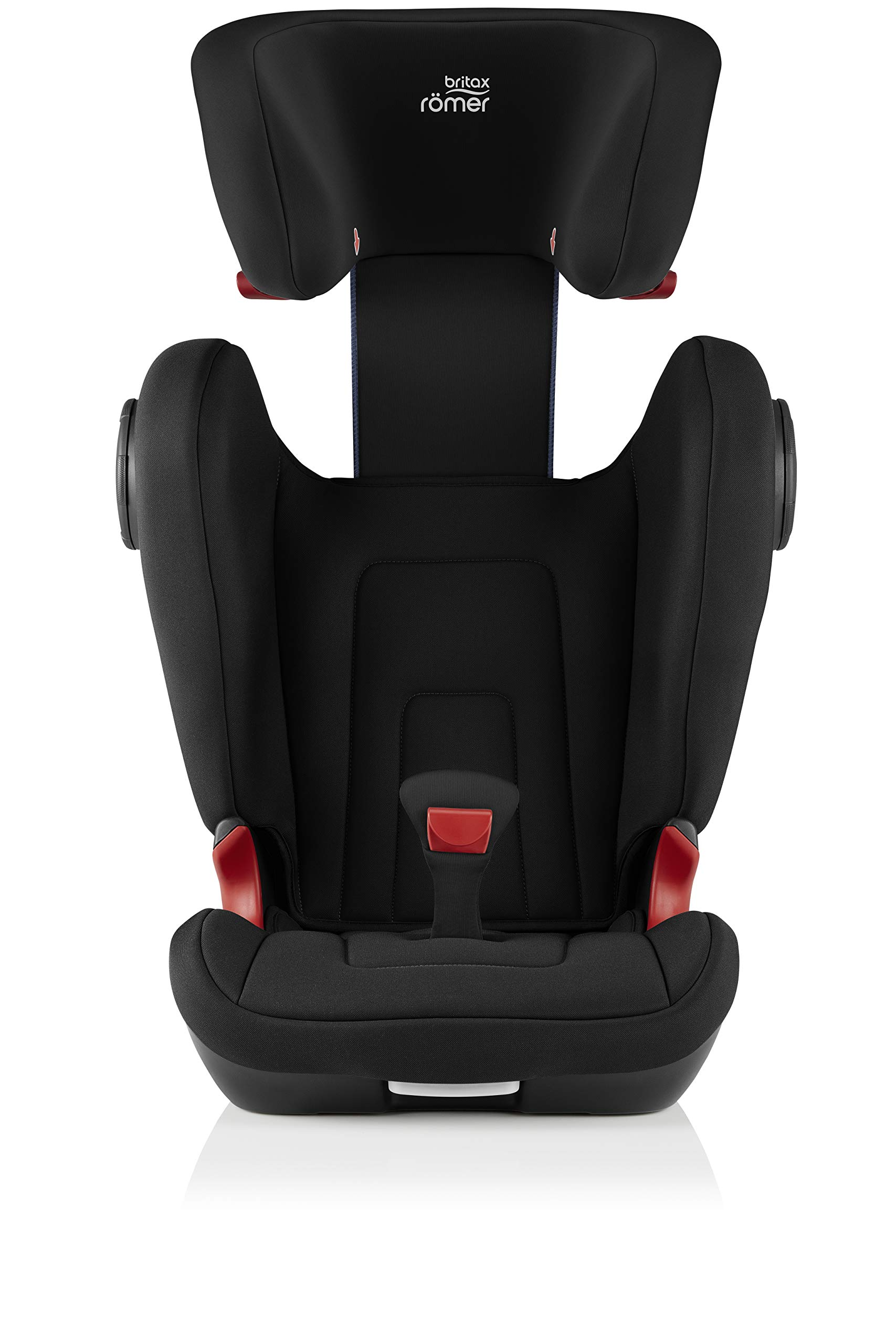 Britax Römer KIDFIX² S Group 2-3 (15-36kg) Car Seat - Cosmos Black  Advanced side impact protection - sict offers superior protection to your child in the event of a side collision. reducing impact forces by minimising the distance between the car and the car seat. Secure guard - helps to protect your child's delicate abdominal area by adding an extra - a 4th - contact point to the 3-point seat belt. High back booster - protects your child in 3 ways: provides head to hip protection; belt guides provide correct positioning of the seat belt and the padded headrest provides safety and comfort. 7