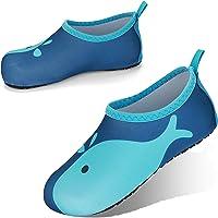 JOTO Water Shoes Chaussons Aquatiques Enfant, Chaussures de Plage de Mer de Piscine Sandales Plastiques Anti Sable…