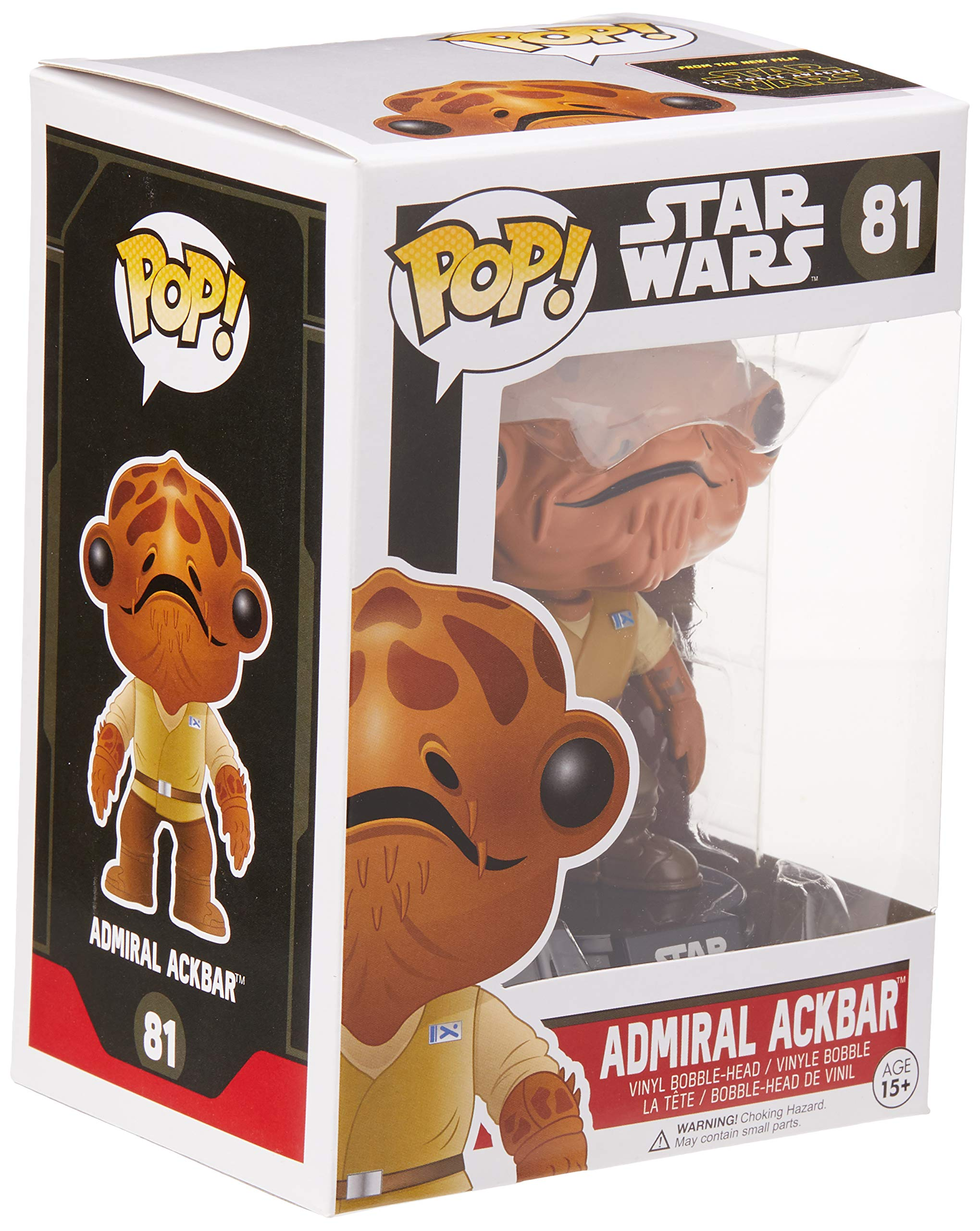 Funko Pop Almirante Ackba (Star Wars 81) Funko Pop Star Wars
